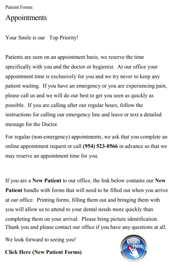 Liliana Hernandez D.D.S. PA on patient history form in spanish, welcome spanish, patient portal spanish,